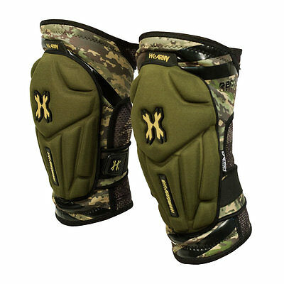 HK Army Crash Knee Pads Camo - Medium - Paintball