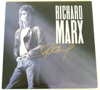 """Richard Marx Authentic Signed """"Now And Forever"""" Sheet Music Autographed"""