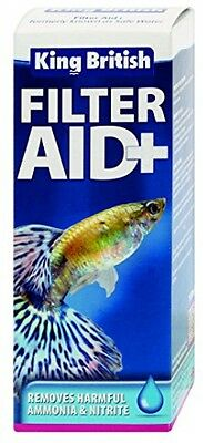 King British Safe Water Filter Aid 100ML Aquarium Natures Treatment Oil