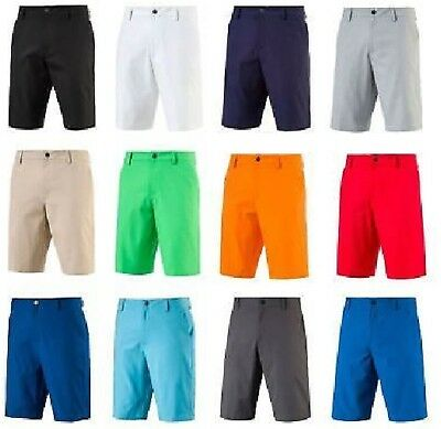 NEW 2018 PUMA SOLID FLAT FRONT TECH Pounce GOLF SHORTS, PICK COLOR & SIZE, $72