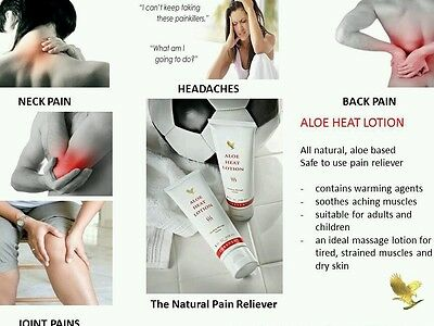 Forever Living - Aloe Heat Lotion   New & Sealed