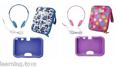 Vtech InnoTAB 3S Gel Case, Storage Tote, Headphones - MAX Accessory Pack RRP £35