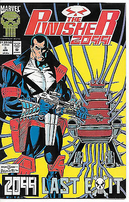 The Punisher 2099 #3 (1993 vf 8.0) fault free
