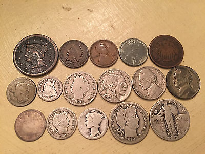Early Us Type Collection - Coin Lot 1-11