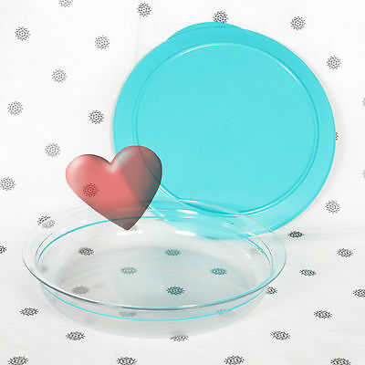 NEW Tupperware Table Collection Aqua Blue 2 Litre Bowl and Seal Limited Release