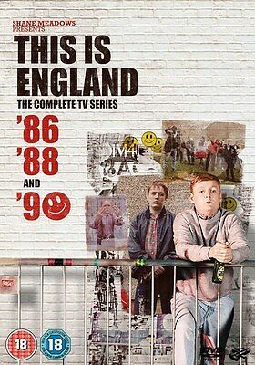 This Is England '86 '88 & '90 Complete Dvd Boxset New/Sealed