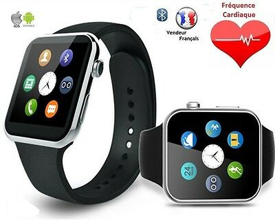 Montre Connectée Bluetooth Smart Watch IOS iPhone Android Samsung Sony HTC LG