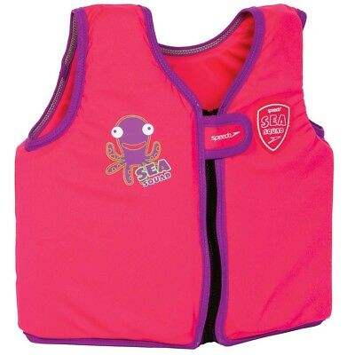 NEW Speedo Sea Squad Junior Boy's Float Vest   from Rebel Sport