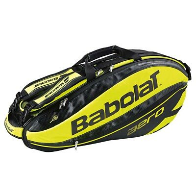 NEW Babolat Pure Aero 6 Pack Tennis Bag   from Rebel Sport