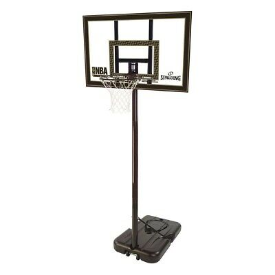 "NEW Spalding 42"" Acrylic Portable Basketball System from Rebel Sport"