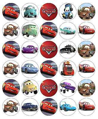 Disney Cars Lightning Mcqueen Fairy Cake Toppers Edible Paper BUY 2 GET 3RD FREE