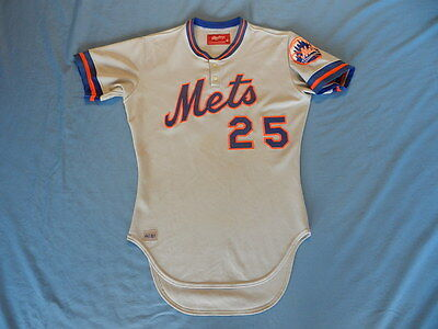 1981 New York Mets game used jersey Road Rawlings size 40