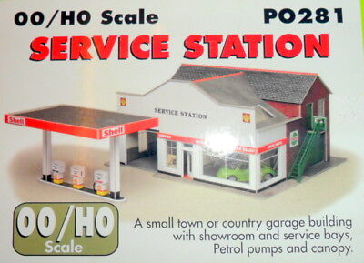 New Metcalfe Service Station PO281 Suit Hornby