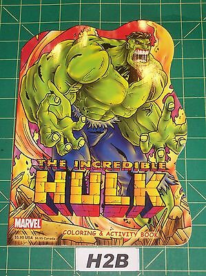 Incredible Hulk Coloring & Activity Book Marvel 2003 Excellent Unused H2B