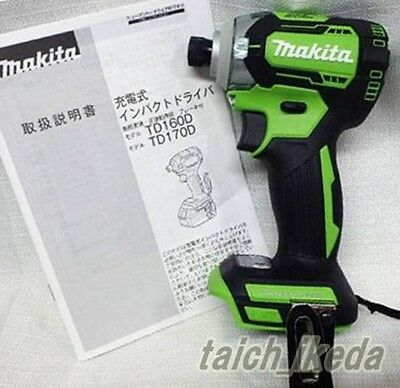 Makita TD170DZ impact driver lime TD170DZL 18V body only made in japan New