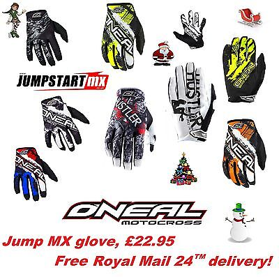 Christmas Present Oneal Jump Adult Motocross MTB GLOVES Shocker / Digi /Ultra 83