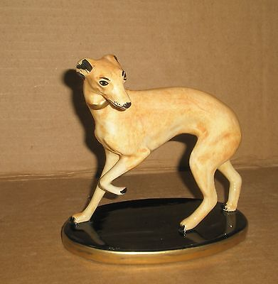 Dog Figurine Whippet/Chelsea House