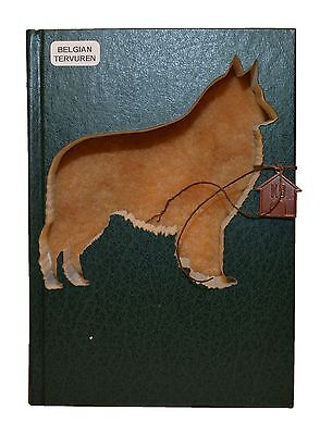 Belgian Tervuren Upcycled Book - 311