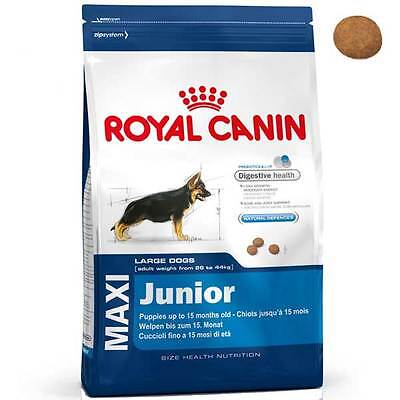 Royal Canin Maxi Junior Complete Dog Food For All Large Breed Puppies Dogs 15kg
