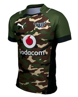Bulls Rugby Jersey South Africa Shirt Mens 2014 Away Puma New Authentic Rare