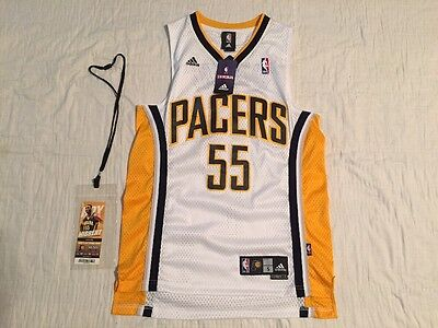 Roy Hibbert Hand Signed Autographed Basketball New Jersey Indiana Pacers Small