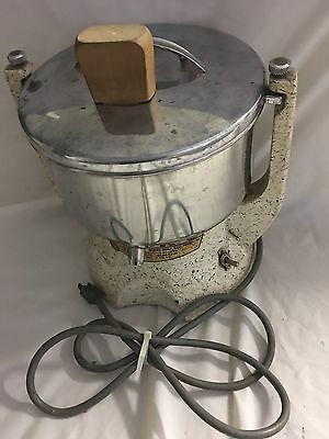 Vintage Atlas electric juicer soda fountain milk shake small appliance