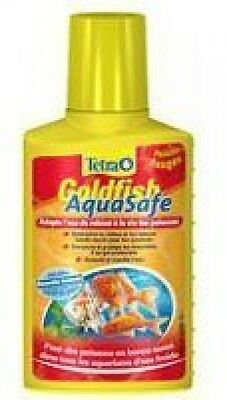 Tetra Aquasafe Water Bottle Conditioner for Goldfish, 100 ml Aqua Safe