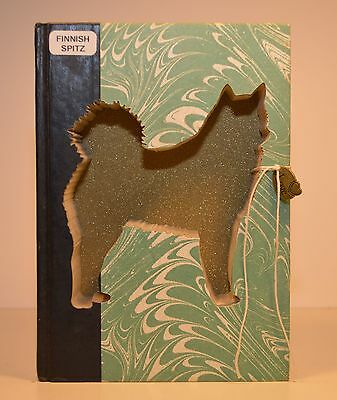 Finnish Spitz Upcycled Book - 001