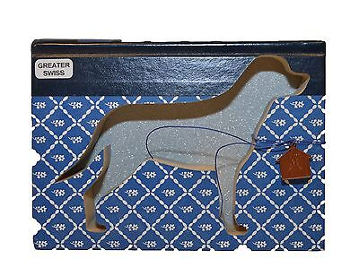 Greater Swiss Mountain Dog Upcycled Book - 004