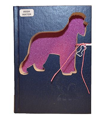 Irish Water Spaniel Upcycled Book - 006