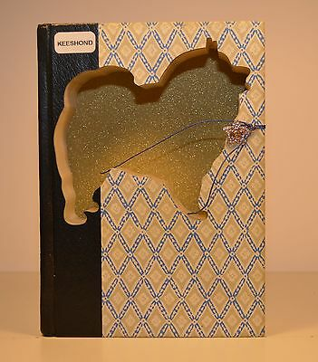 Keeshond Upcycled Book - 003