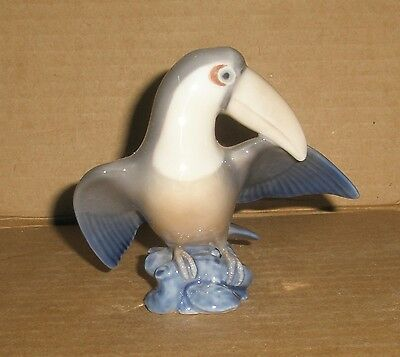 Royal Copenhagen Bird Figurine Toucan