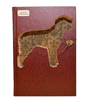 Lagotto Romagnolo Upcycled Book - 001