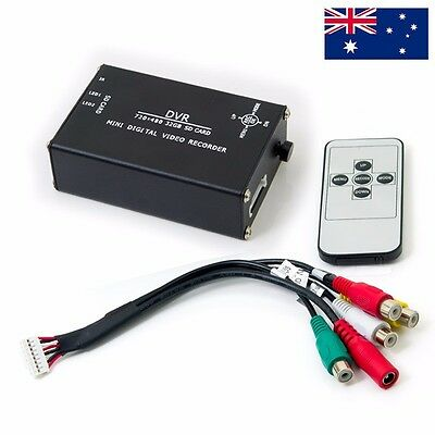 FPV Black BOX All Metal Mini Digital Video Recording Box DVR