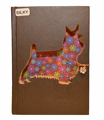 Silky Terrier Upcycled Book - 004