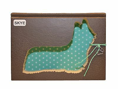 Skye Terrier Upcycled Book - 002