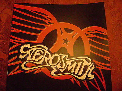 Aerosmith  Japan Tour Program Book Programme Rising Sun Global Warming