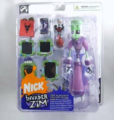 Invader Zim Series 1 The Almighty Tallest Red - Palisades NIB (mouth open)