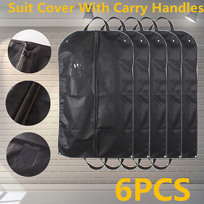 """New3 Black Breathable Suit Carry Cover Garment Travel Storage Protector Bag 40"""""""