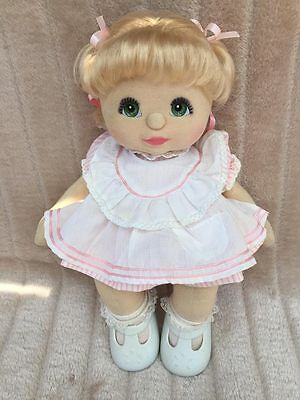 My Child Doll Blonde DR Green Charcoal