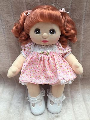 My Child Doll Red Ringlet Pony Brown Charcoal