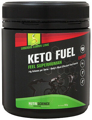 NutriScience Keto Fuel Exogenous Ketone Supplement   beta-hydroxybutyrate