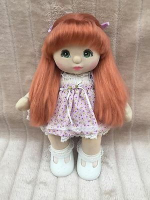 My Child Doll Rare Red UL Green Charcoal