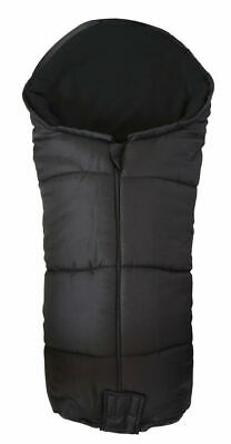 Deluxe Footmuff / Cosy Toes Compatible with Jane Rider Pushchair Black