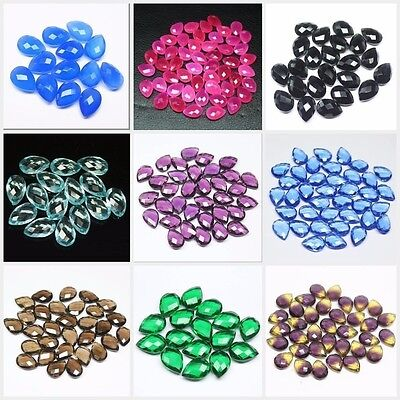Pear Drop Gemstone / Drill Bead Jewelry Making - 3 Pair - 14mm x 10mm Wholesale