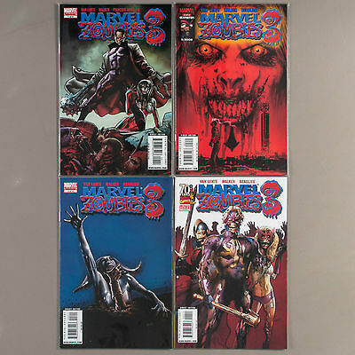 Marvel Zombies 3 #1-4, Full Run, Lot of 4 comics, complete VF+ set
