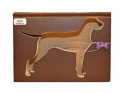 Wirehaired Vizsla Upcycled Book - 005