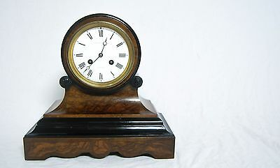 Victorian Channel Islands Striking Drumhead Clock By Le Lacheur Guernsey • £495.00
