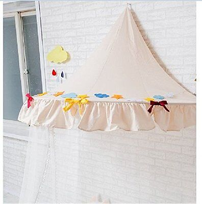Canopy Bed Netting Mosquito Bedding Net for Baby Kids Reading Play Tents