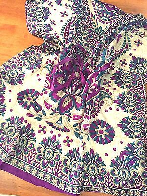 Lot of 10 viscose caftans.draw string.bargain.Fits 8-14 approx.New prints.Cool.